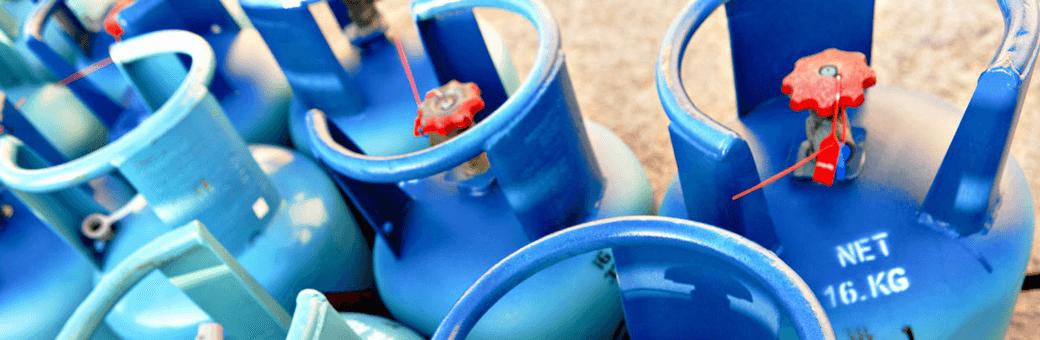 Wymiana butli gazowej